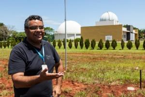 radiotelescópio, polo astronômico