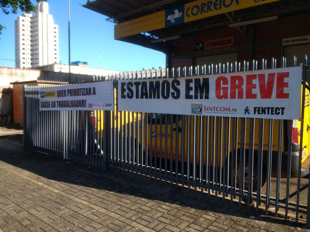 Sindicato dos Correios do Ceará anunciam greve por tempo indeterminado