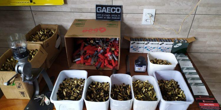 Foz: GAECO investiga estande de tiros clandestino mantido por policial militar e agente penitenciário