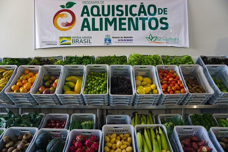 Novo Programa de Aquisição de Alimentos irá atender a mais de nove mil  pessoas em Foz do Iguaçu – Rádio Cultura Foz – AM 820